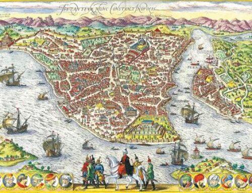 Haritalardaki Istanbul